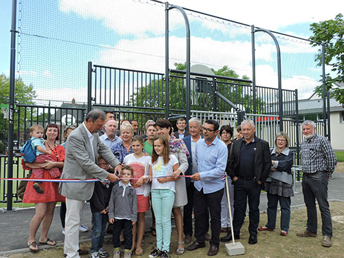 Le City Park inauguré par le maire Jacques Ruello