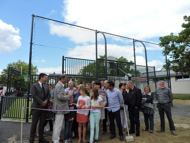 Inauguration d'un multisports
