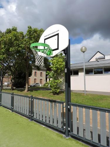 But de basket latéral