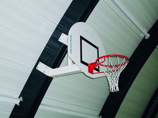 panneau basket mural