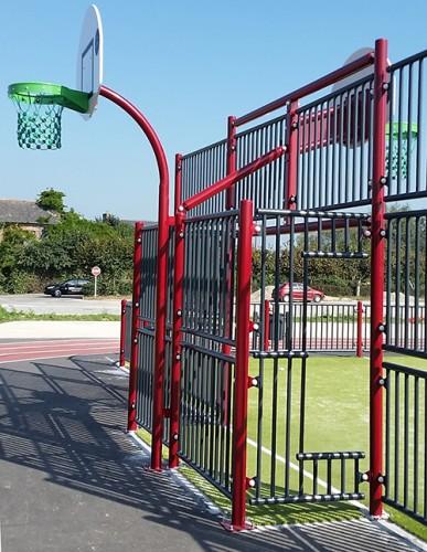 Buts de basket double jeux
