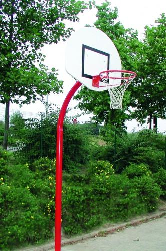 But de basket cintré