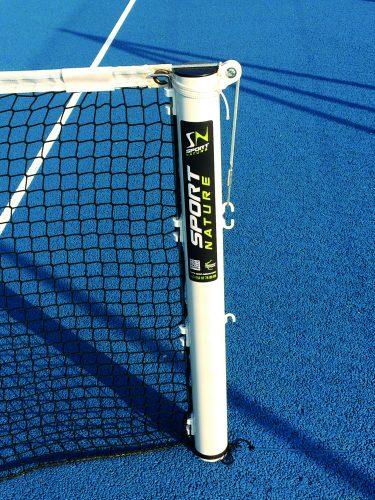 Poteaux de tennis acier rond