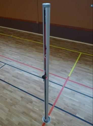 Poteaux de volleyball compétition aluminium
