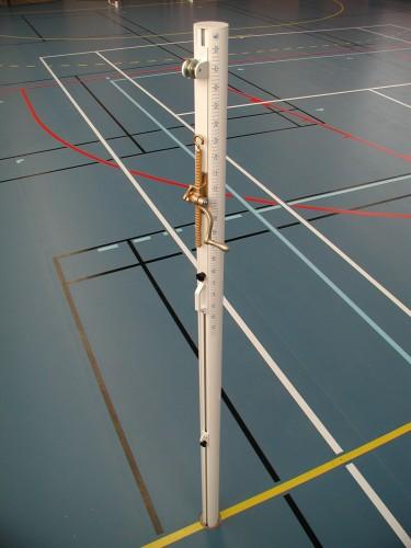 Poteau de volleyball entrainement