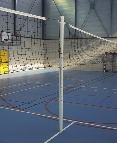 Poteau de volleyball  pour terrains juxtaposés