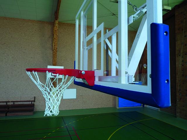 Protection bas de panneau de basket