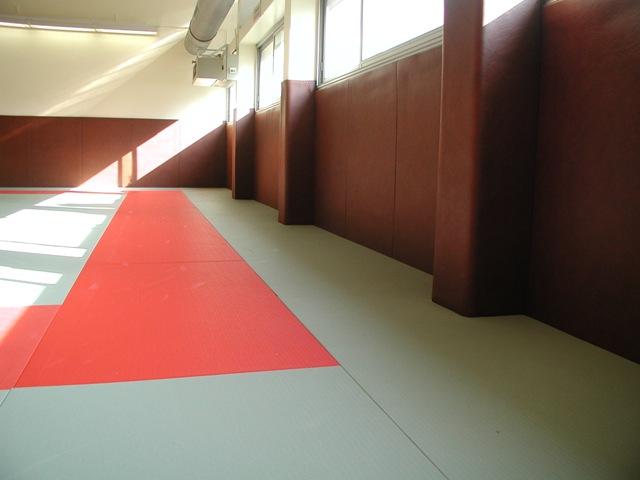 Protections murales pour salle de sports
