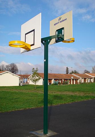 Tour de basket 2 panneaux