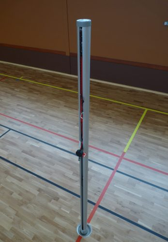 Poteaux de beach volley aluminium