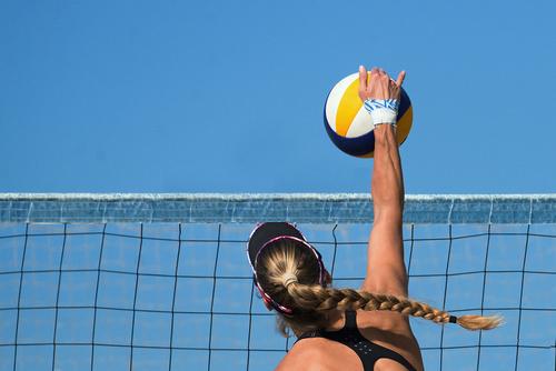 Filet de beach-volley