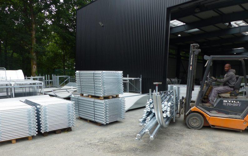 Réception équipements après galvanisation
