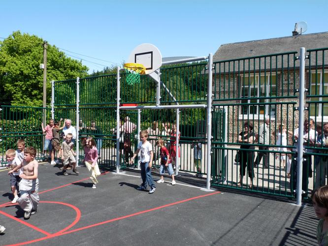Education sportive dans une école