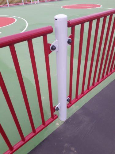 Choix de coloris multiple pour les poteaux et grilles